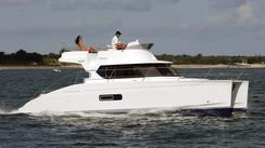 [Occasion] Highland 35, le catamaran à moteur bon à tout faire signé Fountaine Pajot