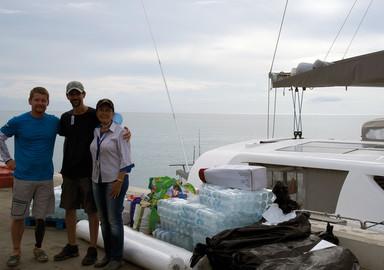Sailing4handicaps : en première ligne pour une mission d'aide en Dominique, après le passage de l'ouragan Maria