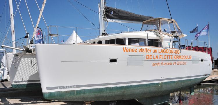 Un catamaran de plaisance qui travaille et garde pourtant la forme !