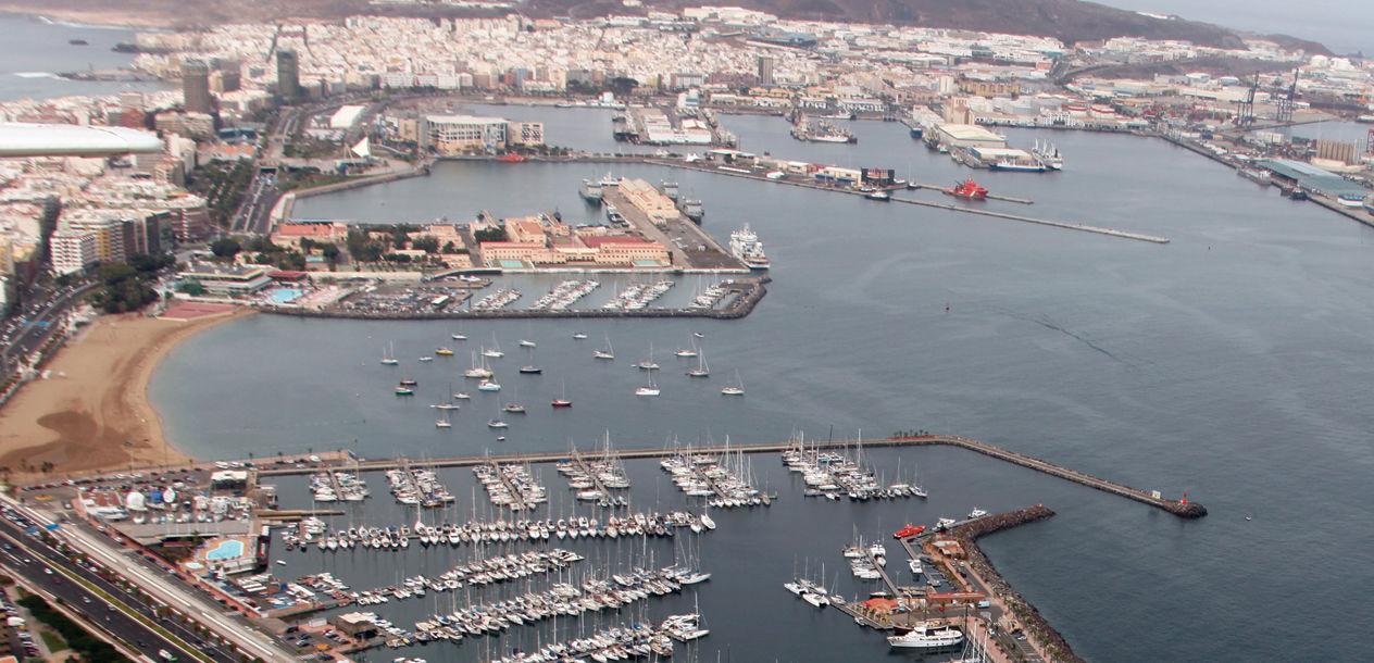 Pour beaucoup d'Européens, le port de Las Palmas aux Canaries est le début de la grande aventure…