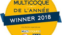 Election du Multicoque de l'année, les résultats