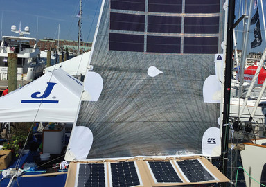 Tissu photovoltaïque