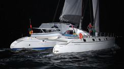 Charm : un Outremer 55 Light sur l'ARC+ 2017