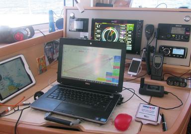 Internet à bord en navigation côtière