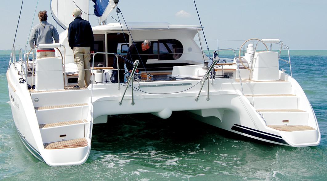 Essai catamaran Nautitech 44 jupe