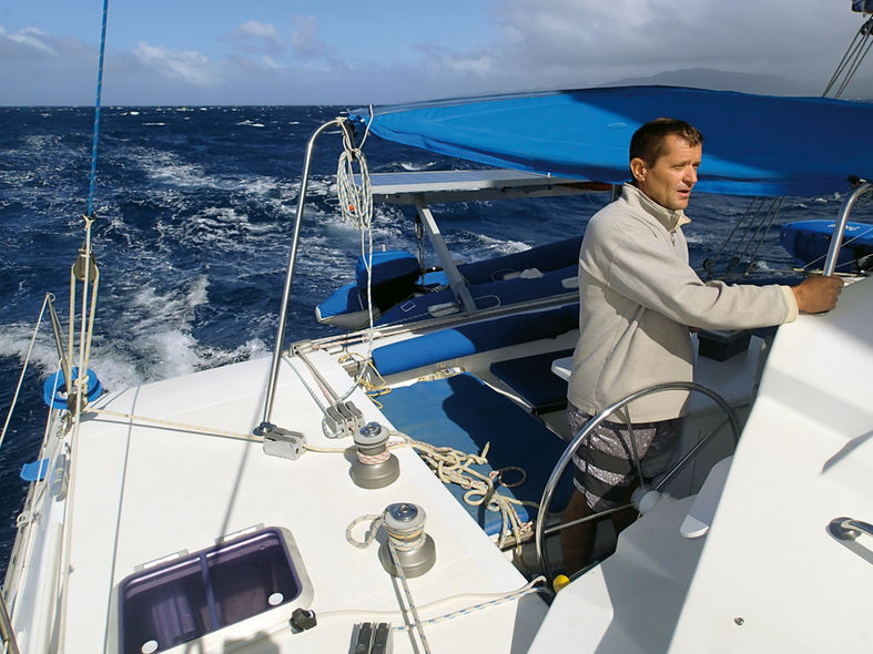 Skipper sur la route de Port Villa