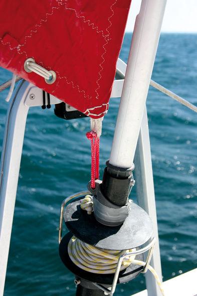 B.A. BA du catamaran fabriquer une herse à bouton