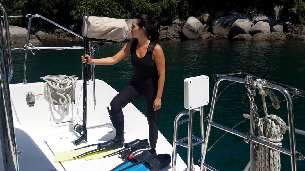 Catamaran au Brésil sur un Lagoon 450