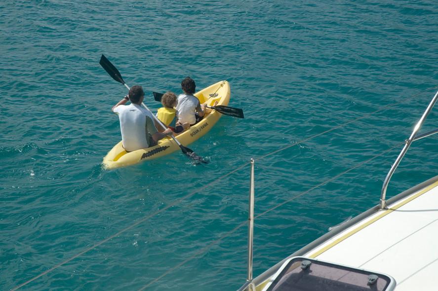 Location : partir en bateau avec des enfants
