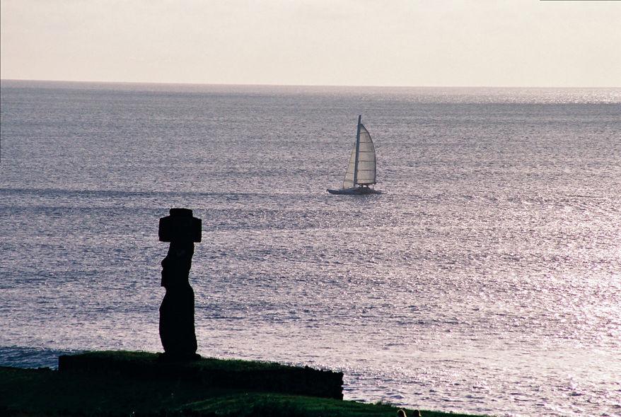Escale sur les iles de Pâques