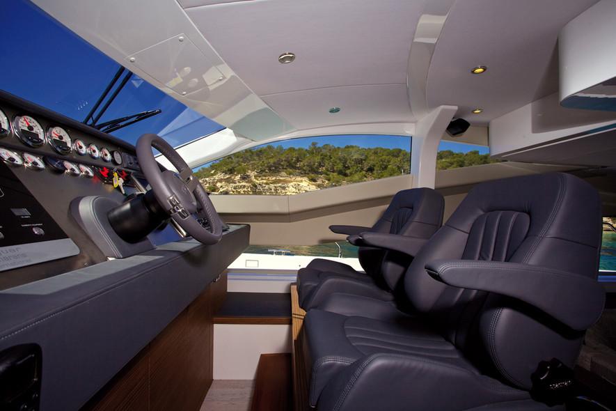 Essai Jaguar 48 Power Catamaran