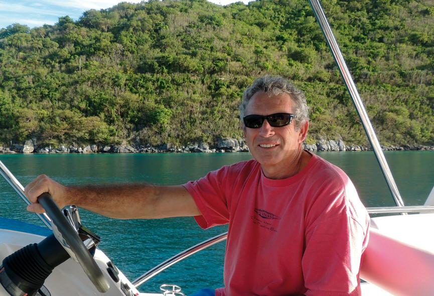 Interview Lex Raas - catamaran à moteur