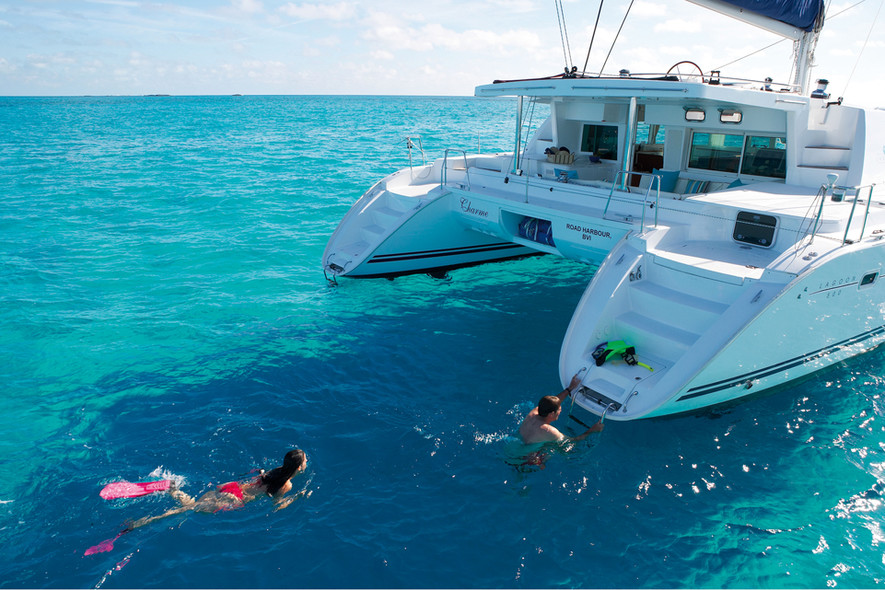 Trouver son itinéraires - location catamaran Caraïbes