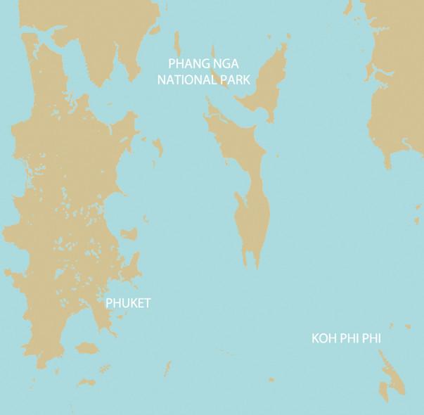 Trouver son itinéraires - location catamaran Thaïlande