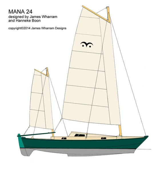 Design classique ou avant-gardee pour grande croisière en catamaran