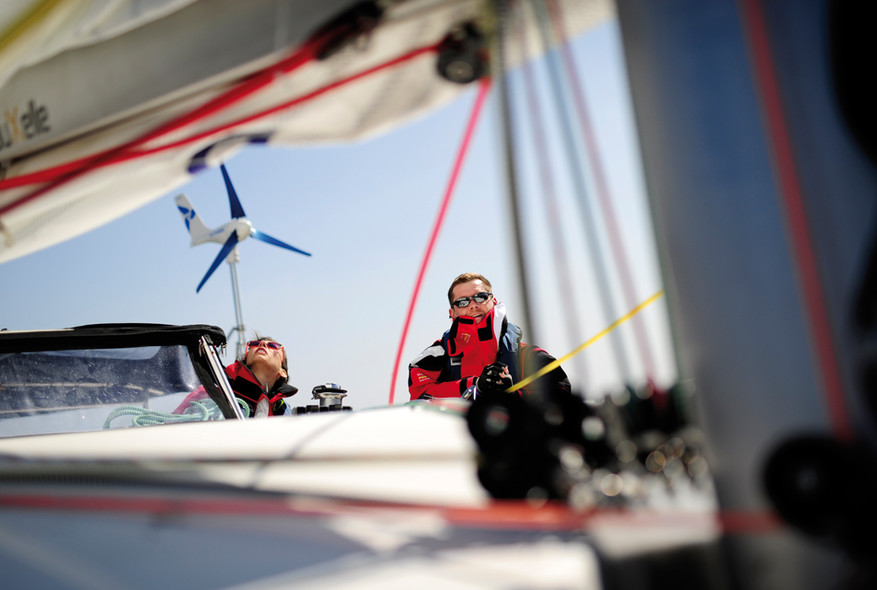 Navigation solidaire : Sailing4handicaps