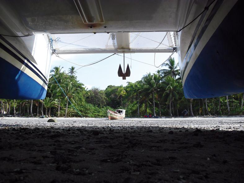 Spot en catamaran