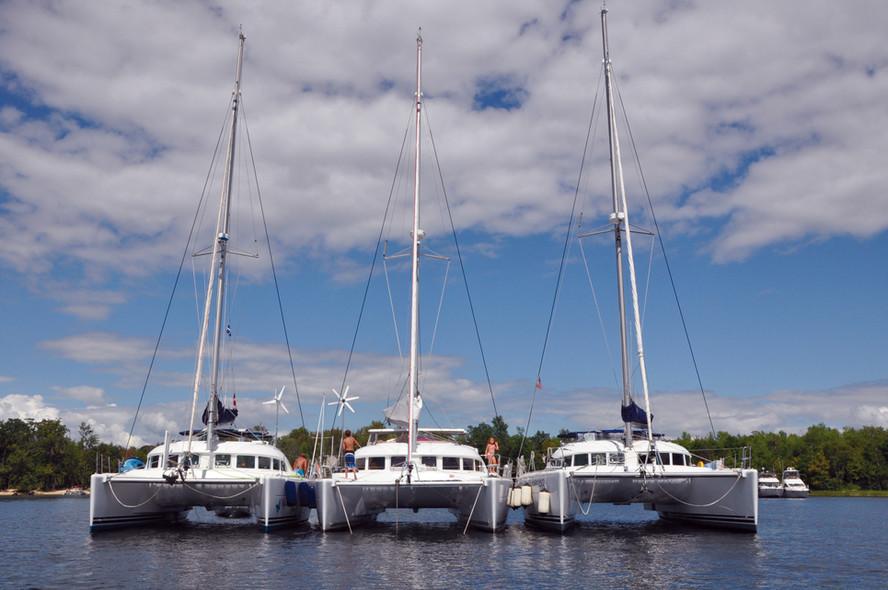 Spots des lecteurs en catamaran