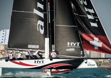 Extreme Sailing Series, le combat continue