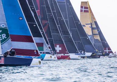 Oman Air remporte le GC32 Championship