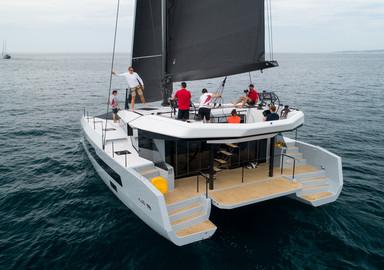 Première navigation pour le catamaran McConaghy MC50