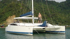 Nos lecteurs autour du monde : Surf trip en catamaran