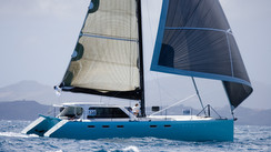 GUNBOAT 48 UN CATAMARAN HAUTE COUTURE