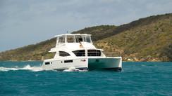 Leopard 51 PC / Moorings 514 Power Cat Un catamaran à moteurs de 51' élégant et performant