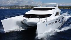 Sunreef 70 Power Expedition La tentative d'un grand catamaran de voyage à moteur, écologiquement acceptable…
