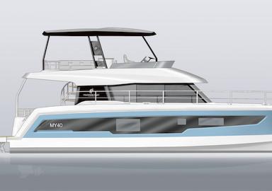 Nouveau MY chez Fountaine Pajot Motor Yacht