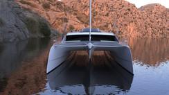 Un catamaran Class 6 signé O Yachts