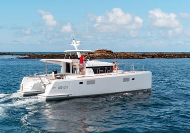 Video : essai à bord du catamaran Lagoon 40 Motor Yacht