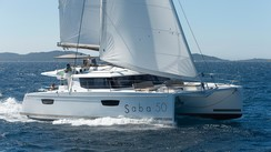 Les catamarans Fountaine Pajot Helia 44 et Saba 50 au Miami Boat Show 2015