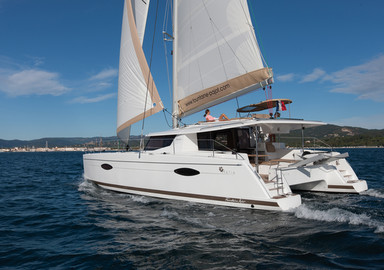 Video : essai à bord de l'Helia 44 de Fountaine-Pajot