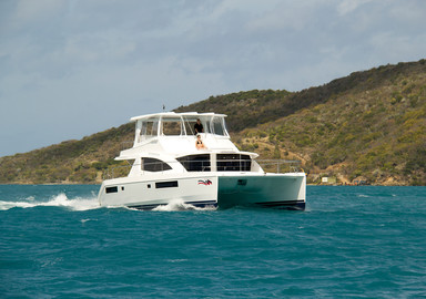 Video essai Leopard 51 Power catamaran