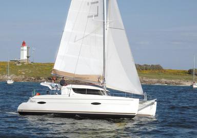 La vidéo de notre essai à bord du nouveau catamaran de Fountaine Pajot le Lipari 41 Evolution