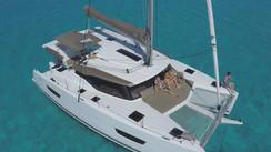 Video : les premières images de notre essai à bord du Fountaine Pajot Lucia 40