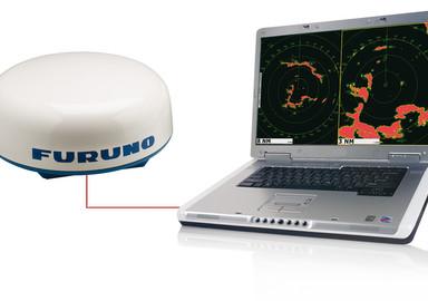 Antenne radar et PC