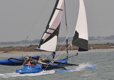 Video de notre essai à bord du Windrider 17