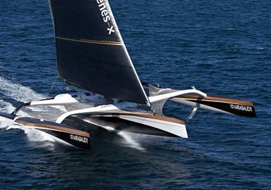 Video : le trimaran Spindrift 2 tente le record de l'Atlantique en équipage