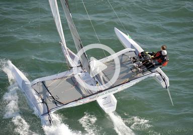 Vidéo : embarquez à bord du trimaran Diam 24