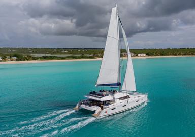 Revivez en video notre essai à bord du nouveau catamaran Victoria 67 de Fountaine Pajot