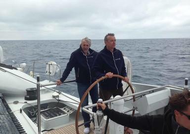 Video, nous avons navigué à bord de Vitalia II, ex Orange 2