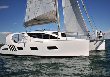 Vidéo : l'essai du catamaran Xquisite X5