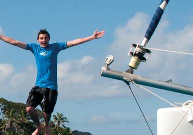 La sécurité et la formation pour la grande croisière en catamaran
