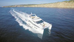 Hudson Power Catamaran 48