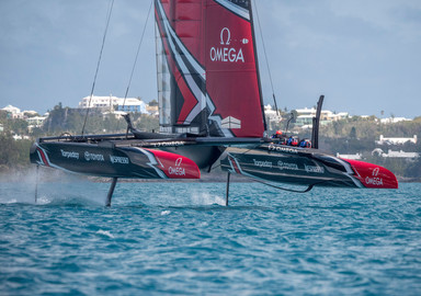 L'America's Cup, attention les yeux !