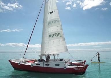 Taboo : un Tiki 30 à Mooréa