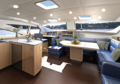 Un nouveau catamaran chez Discovery Yachts