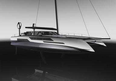 Daedalus Yachts, un catamaran d'avant garde